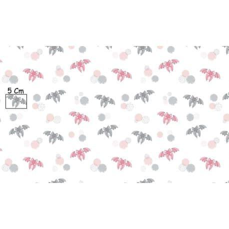 Tkanina bawełniana nietoperze