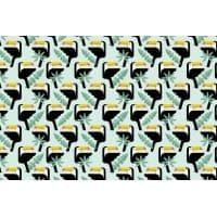 Tkanina bawełniana tukany