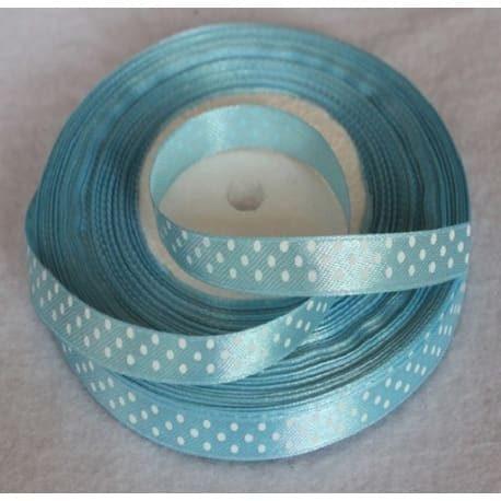 Taśma rypsowa 10 mm  jasno-niebieska 1mb