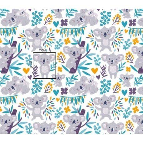 Tkanina bawełniana koala