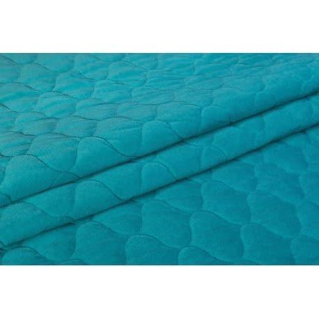 Velvet pikowany ocean