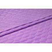 Velvet pikowany jasno - fioletowy