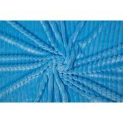 Plusz minky stripes jasno-niebieski