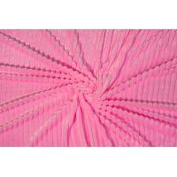 Plusz minky stripes różowy