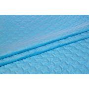 Velvet pikowany j.niebieski CROWN