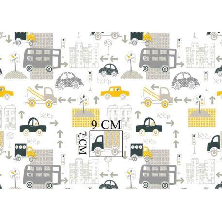 Tkanina bawełniana samochody