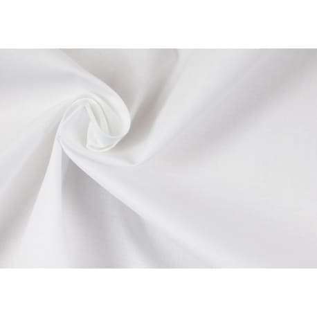30 m Bawełna biała 220 cm - 5.90 netto