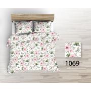 Tkanina bawełniana kwiaty różowe