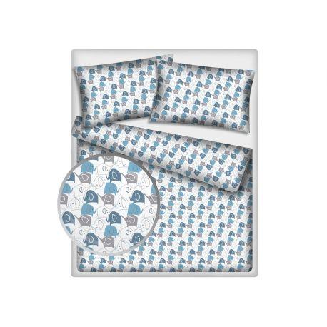 Tkanina bawełniana hipolit niebieski