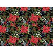 Tkanina bawełniana świąteczna CH21