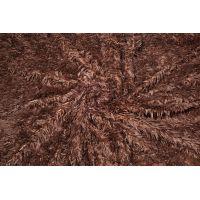 Plusz shaggy brązowy 40 mm