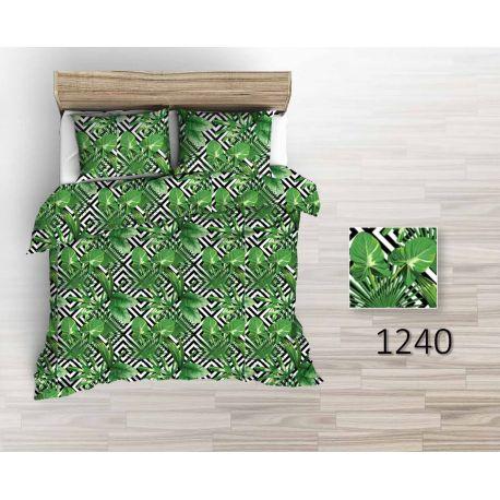 Tkanina bawełniana palma liście 1240