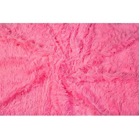Plusz shaggy różowy 40 mm