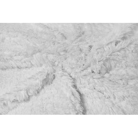 Plusz shaggy biały 40 mm